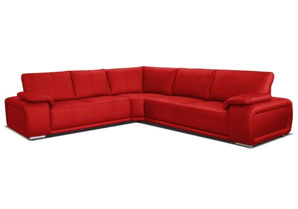 Buffalo PU soft 010 červená