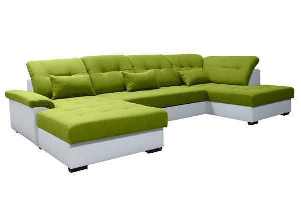 Milton / soft 31 biely / Portland 35 zelený