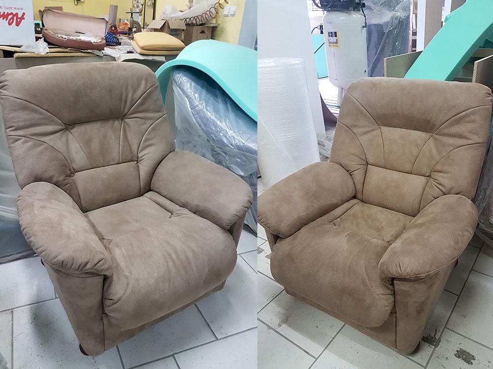 Opravy sedacích súprav